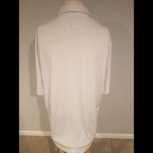 FootJoy Shirts - Footjoy S/S White Collared Golf Polo Shirt Size XL